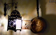 Kitchen Light (Cheese Mouse) Tags: lighting shadow food home portugal kitchen glow bright rustic bracket style best lantern algarve atmospheric metalic morrocan