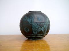 Carstens 1237-18 (PerfectRetro) Tags: west vintage lava globe fat german vase pottery ankara carstens