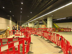 Canary Wharf Crossrail station (DaveAFlett) Tags: london canarywharf crossrail openhouse2014