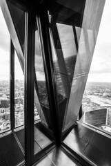 corner (dziubas87) Tags: building london glass architecture skyscraper blackwhite nikon interior modernism rogers d200 openhouselondon