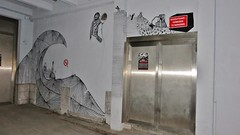 De Papzakken / Vooruit - 13 juni 2015 (Ferdinand 'Ferre' Feys) Tags: gent ghent gand belgium belgique belgië streetart artdelarue graffitiart graffiti graff urbanart depapzakken papzakken urbanarte arteurbano ferdinandfeys