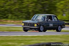 1972 BMW 2002tii (autoidiodyssey) Tags: usa classic cars racecar vintage wv bmw 1972 summitpoint 2002tii johnwood vrg jefferson500 vintageracergroup 2014jefferson500