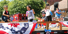 2015 Sonoma July 4th Parade (sarahstierch) Tags: california music playing festival kids children fun sonoma july parade wigs 4thofjuly rollingstones sonomavalley lipsyncing