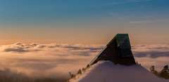 Cloud City (abdurj) Tags: clouds sky sunset sunrise morning cloud city architecture oslo norway overcast winter landscape outdoors dawn travel daylight light evening dusk weather panoramic sun nature scenic mountain
