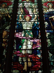 Ascending Soul, Chelmsford Cathedral (Aidan McRae Thomson) Tags: chelmsford cathedral church essex stainedglass window preraphaelite henryholiday