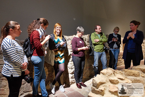 Social Media Walk im Museum Judengasse #mjsmcffm