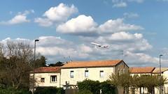 MPL Airport Air France décollage (jc.d the cycling photographer) Tags: france languedocroussillonmidipyrénées hérault montpelliermétropoleméditerranée airport aéroport avion airfrance décollage