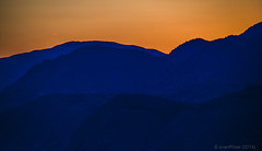 Sunset (evanffitzer) Tags: sunset mountains kamloops thompsonvalley canon60d evanffitzer evanfitzer