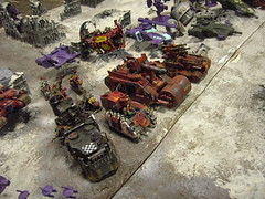 PICT1468 (ugavine) Tags: grey blood 40k knights angels warhammer tau orks 40000
