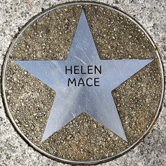 Helen Mace (chrisinplymouth) Tags: uk england metal circle star pavement plymouth devon round marker squaredcircle squircle royalparade trp pentagonal theatreroyalplymouth cw69x chrisinplymouth