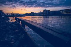 Bankside sunset