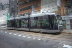 'A1201' of Sapporo Tramcars on JUN 06, 2014 (19) (wakkanai097) Tags: japan sapporo hokkaido tram hdr p7700