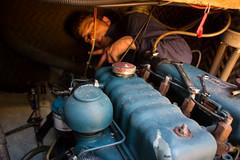 Enlèvement du moteur diesel