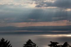 Clouds above Lake Léman, Switzerland