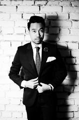 Thai | June 2014 (Corinna Dumat) Tags: boy shadow man men fashion nikon suit mann chic mode junge anzug schick