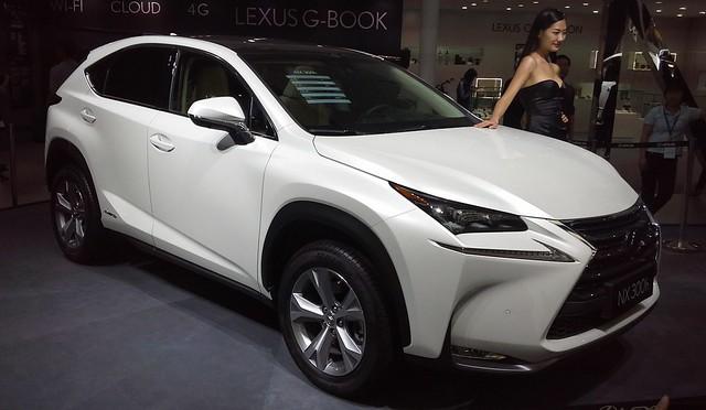 suv lexus nx autochina hybridpoweredvehicle lexusnx 2014autochina