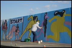2014:180:365 (Charlotte L. Nielsen) Tags: street art festival roskilde nøgenløb