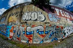 MTC (Don't Sink) Tags: graffiti dc metro mel crew moe che redline dlr nore atb reko mtc kgb trackside aera 2dx kuthe mizta