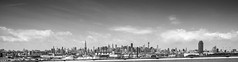 New York, New York, Monochrome [Explored] (C@mera M@n) Tags: city nyc newyorkcity urban ny newyork skyline brooklyn cityscape unitedstates places landmark
