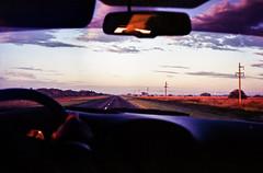 (Gabriel Ghiggeri) Tags: road trip viaje sun color colour film colors ruta clouds colorful colours grain olympus colores amanecer 400 vista rise agfa 35 analogica grano colorido
