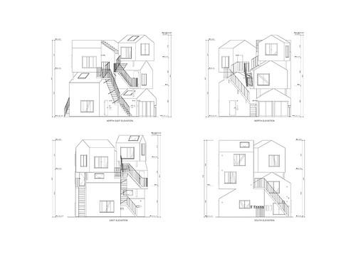 Sou Fujimoto   Tokyo Apartment   Drawings 08