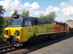 70801 at Spalding (duffpete) Tags: spalding 6thjuly2014 colasrail class70 70801