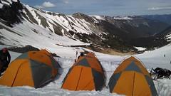 Rainier Expedition Day 5 -- Climb to Camp 1