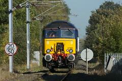 20131030 005 Watford Junction, St Albans Abbey Branch. 57302 Heads To How Wood To Rescue A Stricken Class 321 (15038) Tags: br diesel trains locomotive railways britishrail watfordjunction class57 57302 stalbansabbeybranch