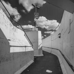 Pedestrian subway at Gillette Corner (Gordon Haws) Tags: artdeco a4 brentford greatwestroad thegoldenmile gillettecornerpedestrianunderpass gillettecornerpedestriansubway