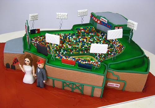Fenway Park Cake