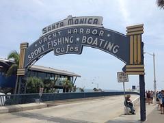 Santa Monica pier (shenilr) Tags: california venice beach la pier losangeles santamonica