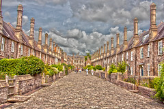 Vicars' Close (paul jeffrey 1) Tags: england cathedral south wells somerset hdr 2014 hotfuzz