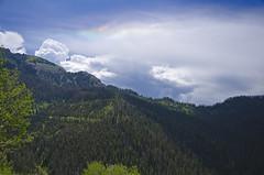 Colors in the Sky (Scrubhiker (USCdyer)) Tags: usa clouds colorado hiking co sundog pagosasprings