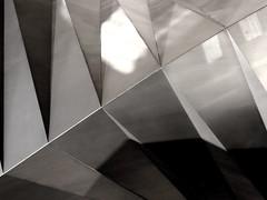 Bishop's Court 3 (G E G / VEVZE) Tags: shadow sculpture court iron steel bishops clair obscur gregoirevenuze