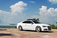 AUDI S5  VELGEN WHEELS VMB8 20X10.5 (VelgenWheels) Tags: white canada cars germany yahoo google sweden miami low performance poland german springs swizterland dual hr custom audi a5 coupe lowered bing concave s5 tuned exhuast velgen fitment nospacers velgenwheels vmb8