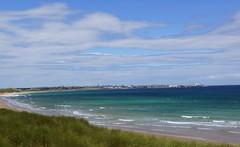Fraserburgh beach at high tide. (artanglerPD) Tags: sea sky beach sunshine clouds sand colours fraserburgh