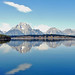 Jackson Lake Teton Reflections 9-11