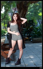 nEO_IMG_DP1U5613 (c0466art) Tags: morning light portrait motion hot nature girl smile weather female canon happy energy asia pretty action sweet outdoor expression gorgeous young taiwan attractive alive feeling lovely charming chiaki 1dx c0466art