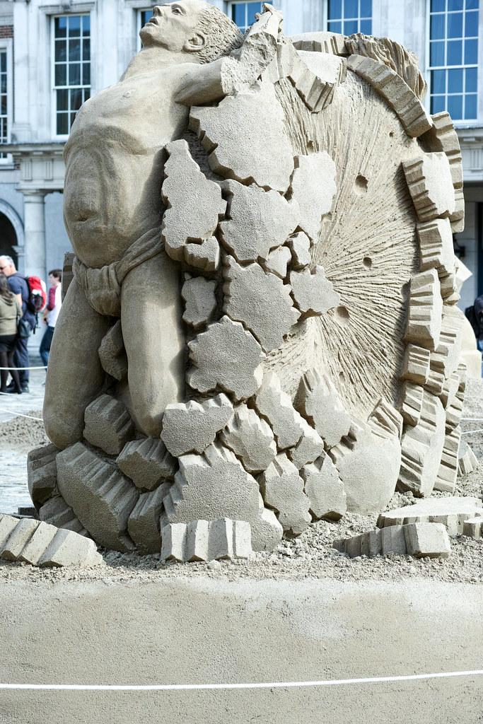 Dublin Castle Sand Sculpture Exhibition 2014