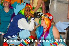 2013 11 02_3901.jpg (Poetry in Motion) Tags: blue red orange green yellow speed is photo costume athletic rainbow shoot purple friendship little cosplay pegasus magic fast pony dash convention con act youmacon 2013 my youma rainbowdash mylittleponyfriendshipismagic