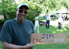 Guess what year Jim attended camp?