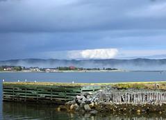 View across the bay (Bijouxbear) Tags: sea clouds docks newfoundland skies newfoundlandcoastline