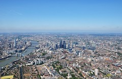 London From Above (Dave-B2012) Tags: city uk england building london water thames towerbridge river nikon shot aviation air bluesky aerial helicopter gherkin d90