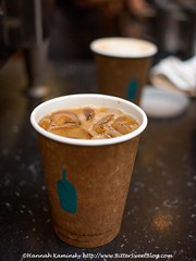 Blue Bottle - New Orleans Iced Coffee (Bitter-Sweet-) Tags: sanfrancisco california cold coffee vegan cool drink neworleans beverage sugar ferrybuilding iced refreshing chicory soymilk bluebottle sweetened
