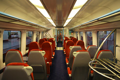 460002 Interior, Gatwick Airport, September 10th 2010 (Southsea_Matt) Tags: 460002 class460 alstom juniper southernrailway goahead gtr govia gatwickexpress emu electricmultipleunit gatwickairport westsussex england unitedkingdom september 2010 autumn canon 30d passengertravel publictransport vehicle railway railroad station interior standardclass londonvictoria