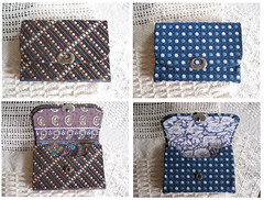 card_case (cartonnage) (j_hiro) Tags: box case fabric card covered boxes cloth necktie cartonnage upcycle