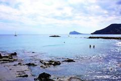 Colour immersion (jane.rybalko) Tags: sea españa costa colour beach coast spain blanca calpe calp