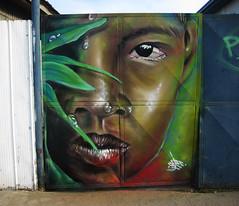 rostro (cejec) Tags: patagonia muro face graffiti spray punta walls aerosol rostro magallanes graffitichile puq graffitichileno aerosolarts