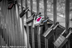 Bridge Of Locked Love (Habitualmurph) Tags: kilkenny ireland love lock beidge canonrebelt3