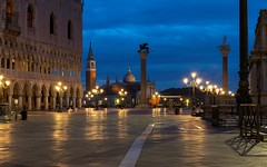 At the Blue Hour in San Marco Square (drugodragodiego) Tags: venice italy architecture sunrise reflections square pentax alba bluehour piazza venezia riflessi piazzasanmarco k3 veneto orablu greatphotographers pentaxda50135mm smcpentaxda50135mmf28edifsdm pentaxiani pentaxk3